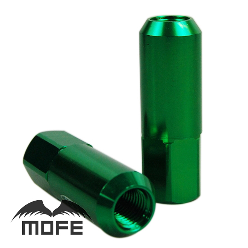 BLOX 60mm Racing Green Aluminium Wheel Nuts