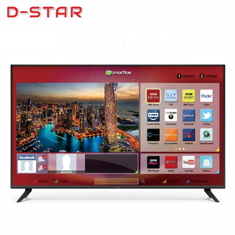 Barato digital 4k smart tv lcd led hd gran video tv