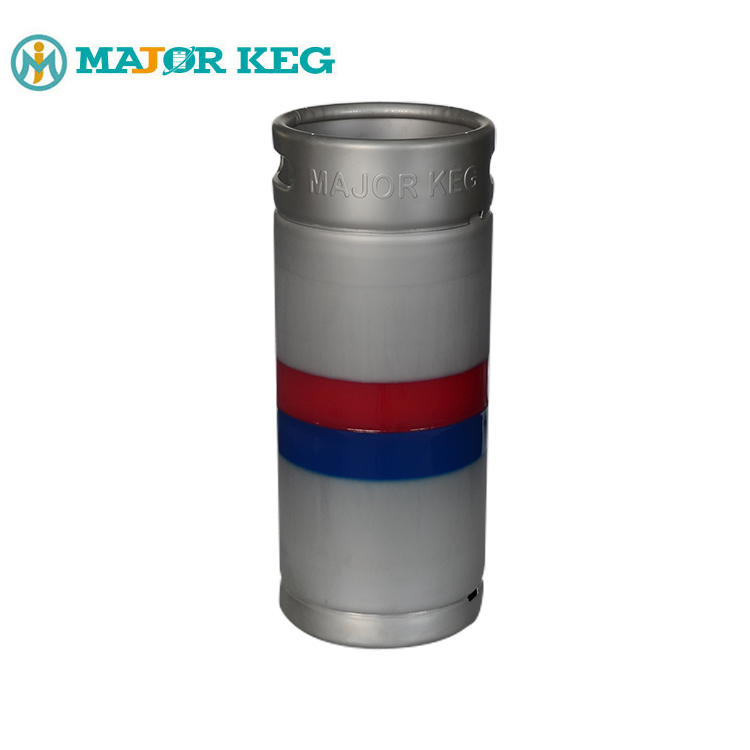Unbreakable Stainless Steel Outer Shell David Keg 20l Slim Beer Drums