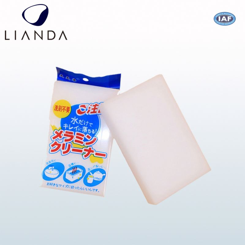 cellulose sponge scouring pad, chamois sponge pad with microfiber for car, chemical ink eraser