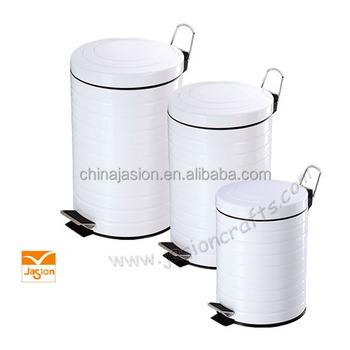 Top 3 Liter Retro Plastic Voering Keuken Pedaal Afval Vuilnis DG96