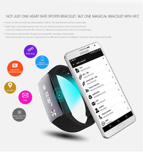 2017 hot selling wholesale fashionable smart bracelet with NFC dynamic fitness tracker fit band for android iOS