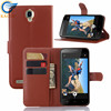 for Alcatel One Touch flash case, book style leather flip case for Alcatel One Touch flash Plus OT7054