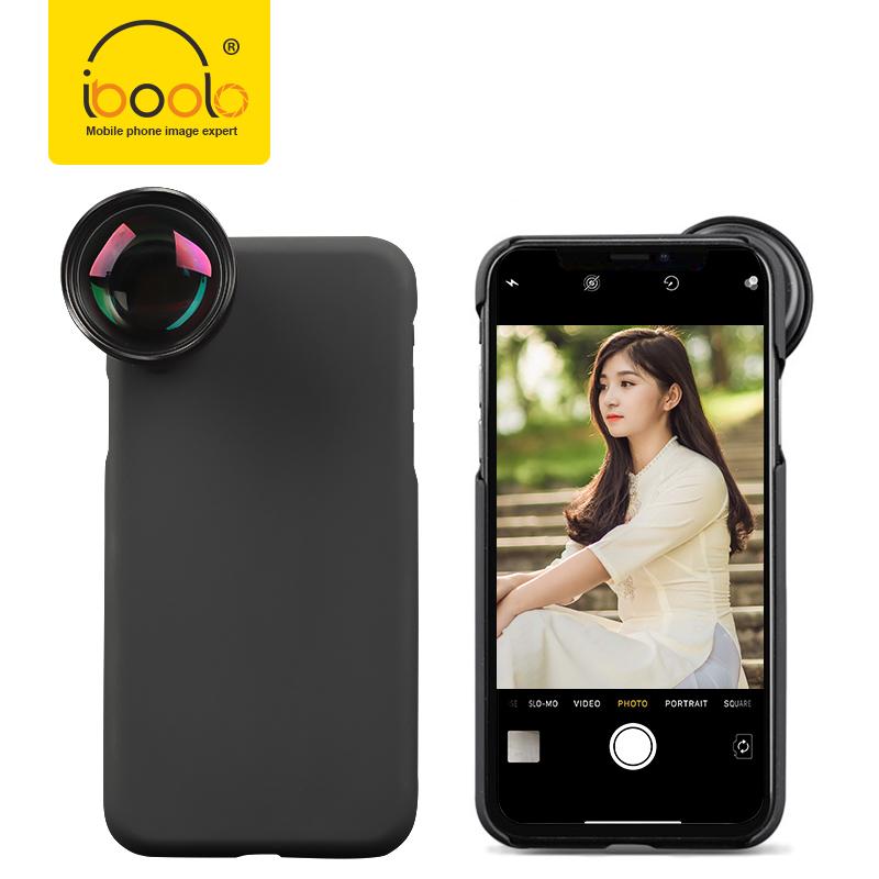 2019 Iboolo Harga Grosir Kaca Optik Ponsel Smartphone Lensa 2X Telephoto Zoom 60 Mm PRO Lensa Potret