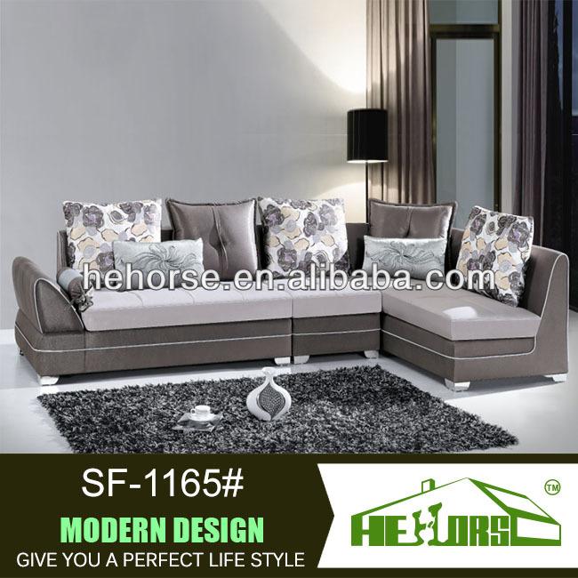Canapés meubles de sofa moderne de tissu fantaisie. sf ...