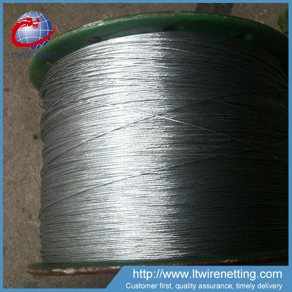 Best Price Thin Black Steel Wire Rope 7 Wires - Buy Hard Steel ...