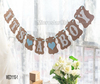 Hot-selling In Stock It's Girl Baby Shower Garland Hanging Decor Sign Party Photo Props Bunting Banner