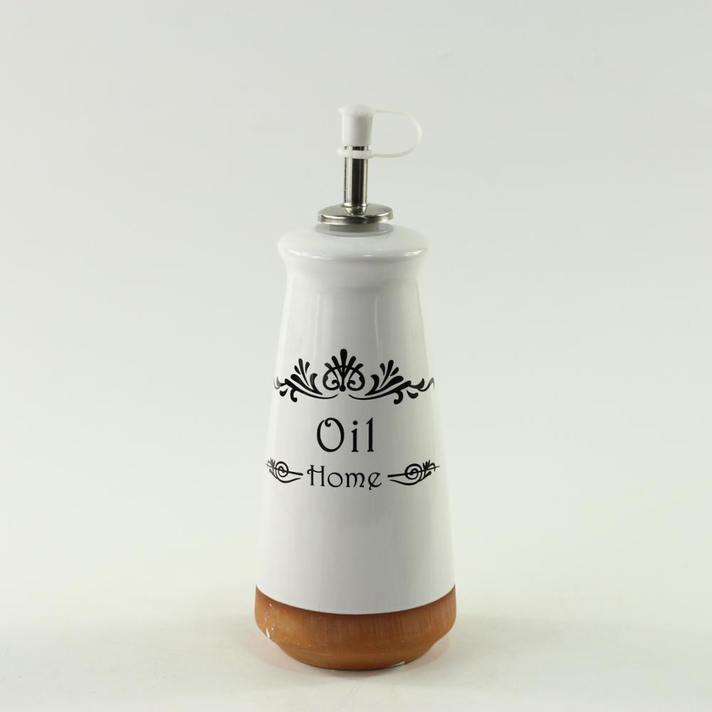 Gốm dầu và dấm chai bộ
