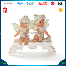 China Factory Supplier Small Figurines Resin Angel Figurine Resin Angels