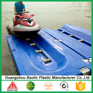 China jet ski plastic dock float for sale