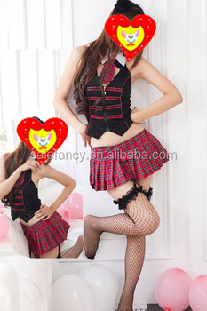 Sexy Ladies japan sexy school girl costumes outfit pin up costume girl QAWC-2216
