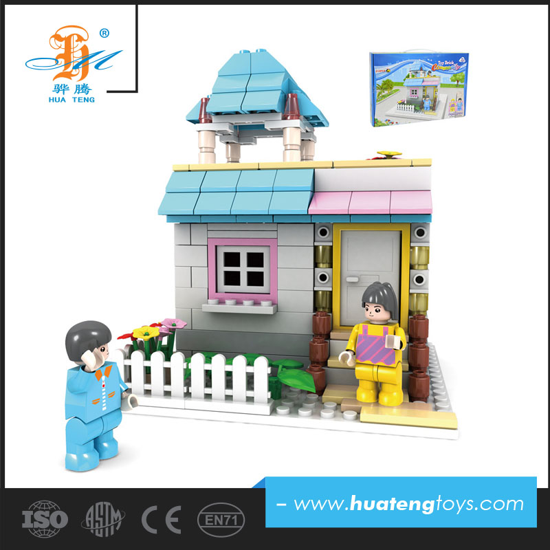Wholesale diy kids education building blocks bricks toys with eco friendly