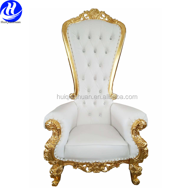 Wedding high back lion king throne chair for sale