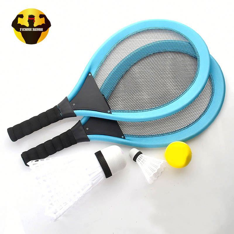 RAMBO Fitness Oefening Indoor Game Krachtige Training Badminton Racket Set Racket