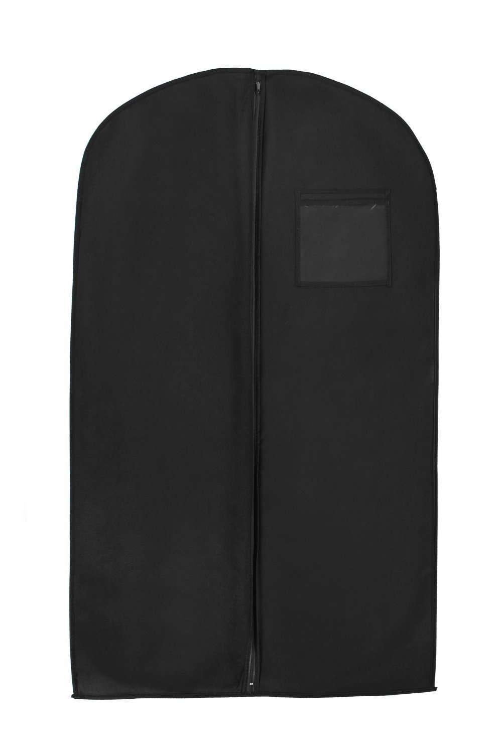 "Cimostar 40"" Breathable Garment Bags,Suit Garment Clothes Cover Bag,Suit Bag with Clear Identity Pouch,Black"