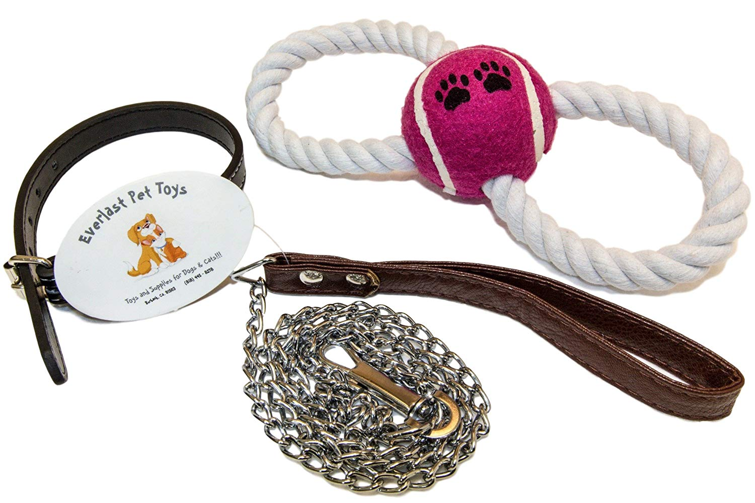 """Leash & Collar PLUS For Small Dogs 
