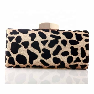Fashion Leopard style magazine clutch purse, clutches and purses for women