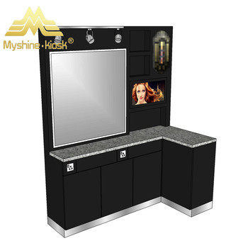 Best Hair Kiosk Design Mall Business Salon Commercial Made In China