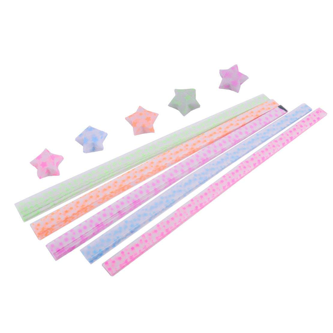 100 Strips//set Paper Quilling Strips set Mixed Color Origami Paper DIY Hand Craft 5mm Width,Pink by Crqes