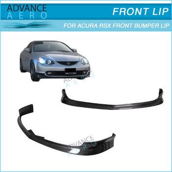For 02-04 Acura Rsx Dc5 Tr Style Carbon Fiber Front Bumper Lip ...