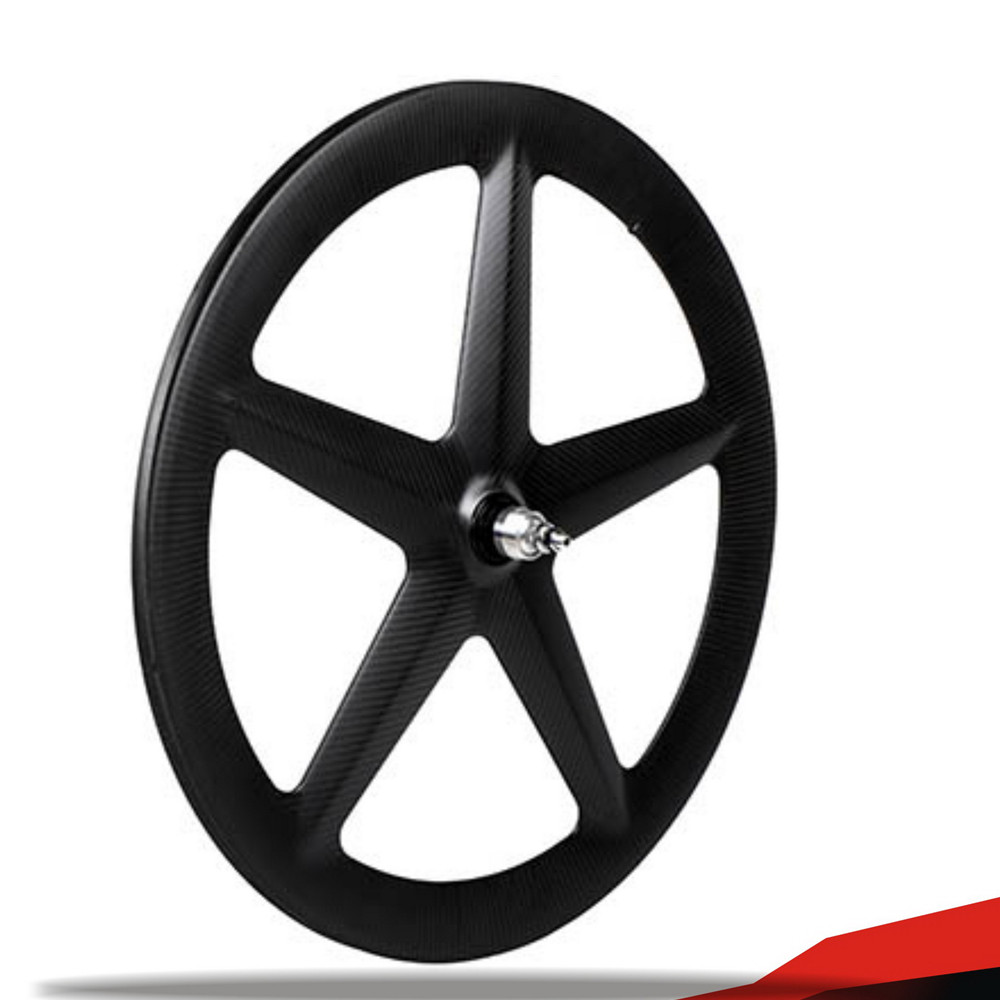 2017 High grade TT bike OEM rims 5-spokes carbon fiber bicycle disc tubular wheels