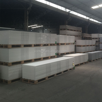 White corians 6mm sheets/Marble solid surface/Corians acrylic stone