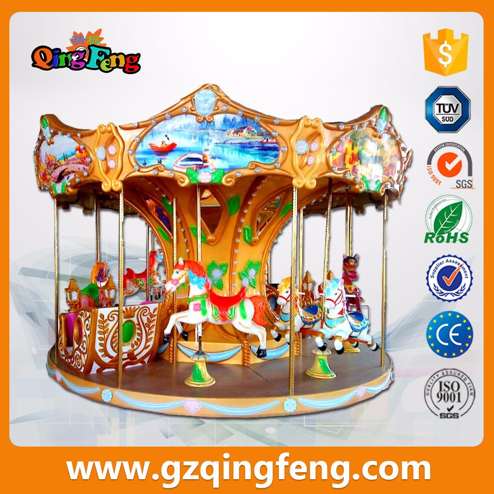 Qingfeng parco divertimenti carosello cavalli i bambini for Giostre usate