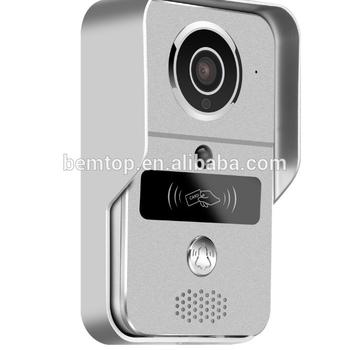 Smart Wifi Video Door Phone In Onvif 2 2 With 720hd 1 0mp Camera Of  130degree Wide Lens,Unlock By Ic Card,App Of Android Ios - Buy Smart Door