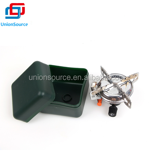 Portable Outdoor Camping Gas Stove Kit.