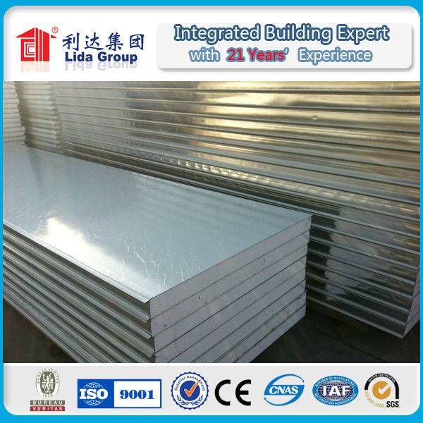 roof/wall EPS sandwich panel customized