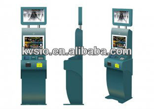 Photo Printing, Card Dispenser Machine TFT LCD Monitor Dual Screen Kiosk