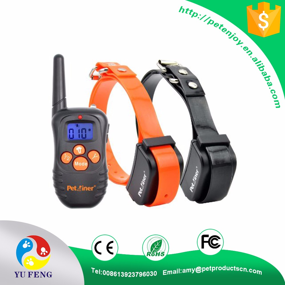 Most Popular Waterproof Outdoor dog training collars with remote/sport dog shock collar/remote dog collar