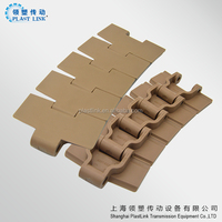 828T turning transmission flex top conveyor chain factory cheap price