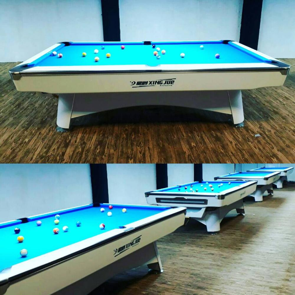 Chinese Marble Slate Biliard Pool Table With Customized Pocket Size