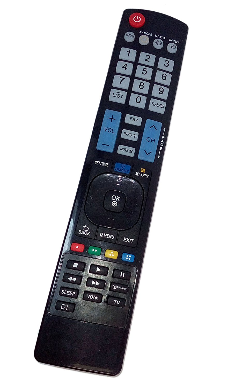 Replaced Remote Control Compatible for LG AKB73756542 32LN570B 42LN5700UH 50LN5750 55LN5710-UI 60LN5710-UB SMART TV