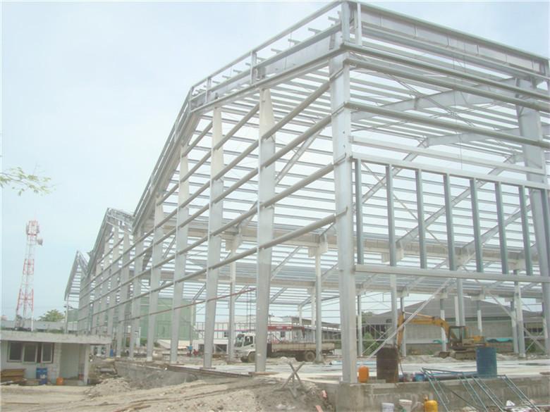 Prefabricados de estructura espacial de toldo de metal - Estructuras de metal ...