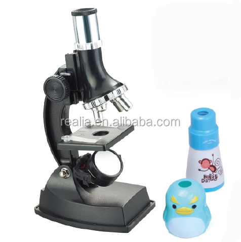 900x Microscope Set With Lamp