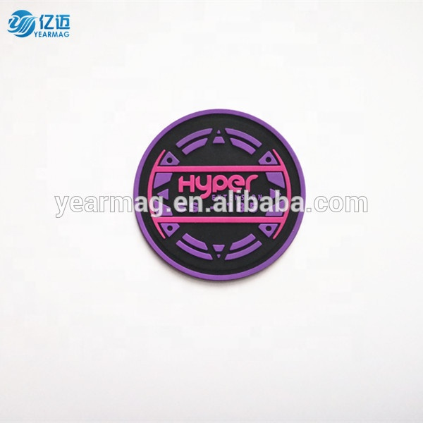 Sewing in Embossed Custom Private Brand Name 3D Logo Garment Soft PVC Rubber Patch Labels for Clothing