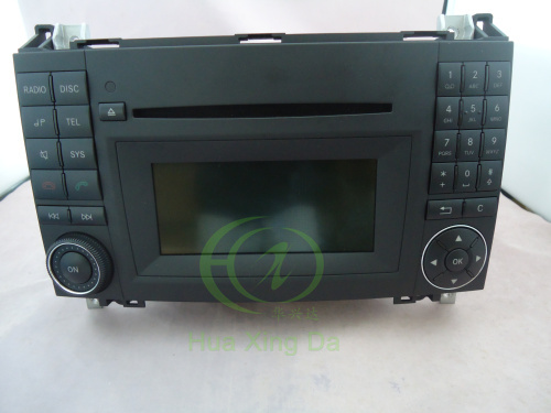 mercedes audio 20 radio single cd with colour display. Black Bedroom Furniture Sets. Home Design Ideas