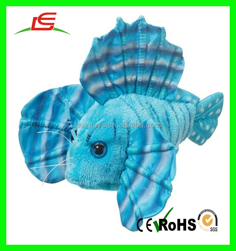EN71 ASTM Standard Lovely Tropical Fish Stuffed Animals for Sale
