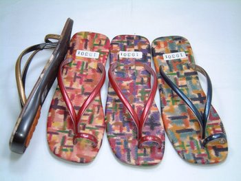 japanese design sandal for women 19301