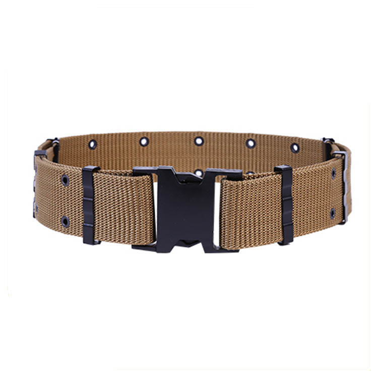 Wholesale fashionable nylon webbing army military tactical belt