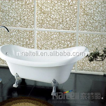 China Suppliers Waterproof Acrylic Resin Bathroom Wall Panels