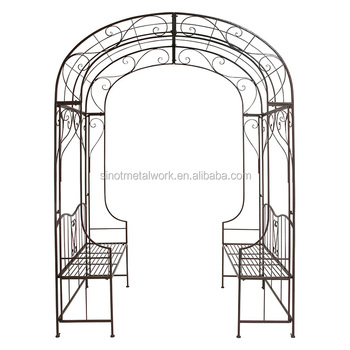 Chinese Decorative Wrought Iron Garden Arch Design In Hebei Metal Archways  For Gardens Iron Pergola Metal