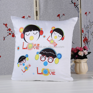 Blank sublimation square shape pillow cover at low price