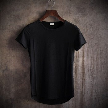 Custom Wholesale 100%Cotton Breathable Men's O Neck T-Shirt