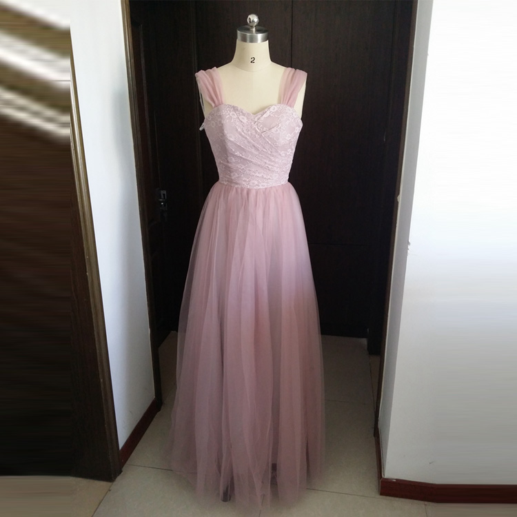 Semi Formal Wedding Gowns: 2016 New Lavender Long Semi Formal Party Dress For Wedding