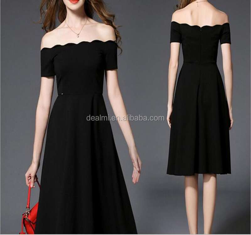 DEMIZXX245 Wholesale Custom Top Quality Luxury Off-shoulder New Design Evening Dress