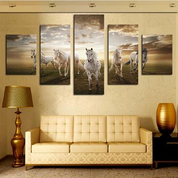 5pcs Cheap Canvas Wall Art Digital Canvas Photo Prints Printed Photo ...