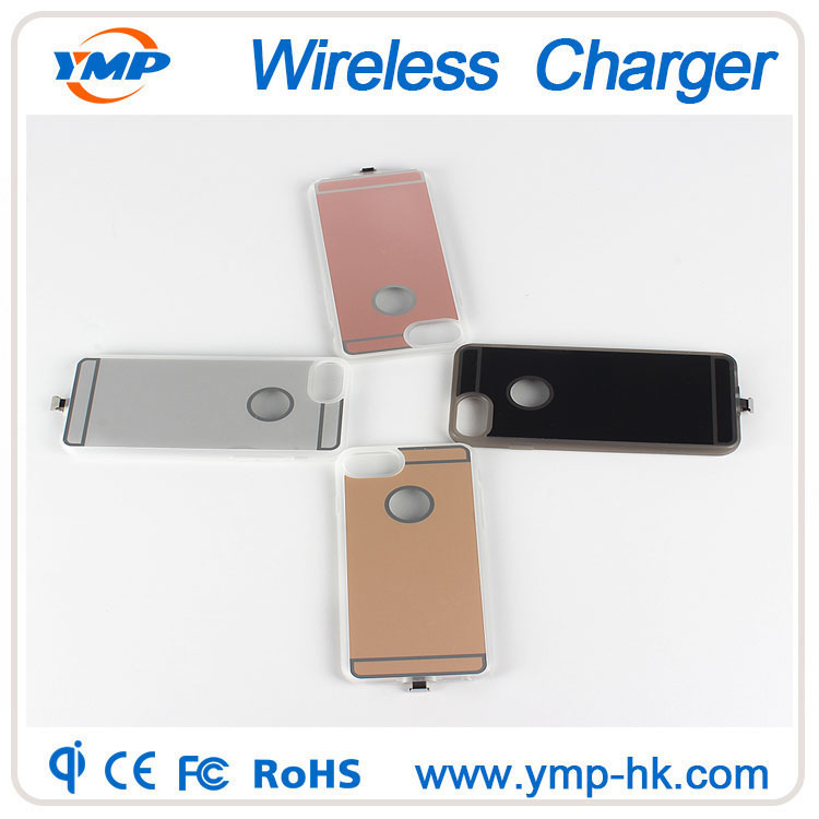 Dismountable connector cover for iPhone 5/5s Qi wireless charging receiver case